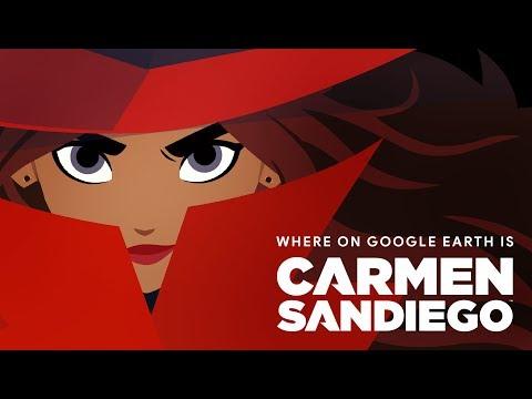 New Interactive 'Carmen Sandiego' Caper Comes To Google Earth