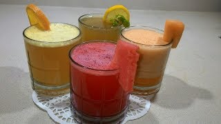 Fruit Juice Recipes/தமிழ்/Summer Special juices/ Fresh juices/Summer drinks