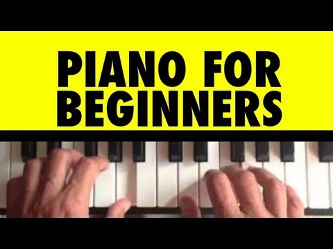 How to Play Chopsticks on Piano #1 Piano Lessons for Beginners Lesson 16 Tutorial Easy Free Learning