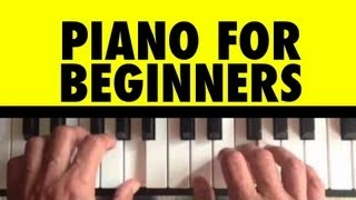 How to Play Chopsticks on Piano #1 Piano Lessons for Beginners Lesson 16 Tutorial Free Easy Learning