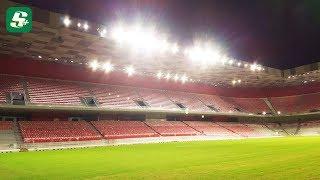 Gambar cover Arena Kombetare - Testohet ndriçimi në stadiumin Arena Kombëtare
