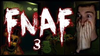 THIS WAS A HORRIBLE IDEA - Five Nights At Freddy's 3 (w/Facecam)