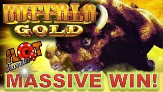 ★ SUPER BIG WIN ★ BUFFALO GOLD | RETRIGGER HUGE WIN |  SlotTraveler | SLOT MACHINE BONUS(BIG WIN ** BUFFALO GOLD | RETRIGGER HUGE WIN | SlotTraveler | SLOT MACHINE BONUS THANK YOU!!! SUBSCRIBE AND THUMBS UP!!! Welcome to ..., 2016-04-19T23:30:28.000Z)