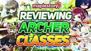 MapleStory: Reviewing Every Archer Class in GMS (2019)