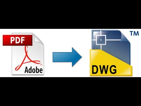 online convert pdf to autocad dwg