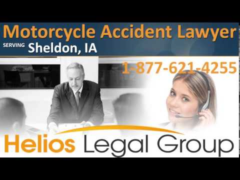 Sheldon Motorcycle Accident Lawyer & Attorney - Iowa