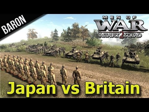 Men of War Assault Squad 2 - Honorable Japan vs. United Kingdom, 3v3 - Multiplayer Gameplay from YouTube · Duration:  24 minutes 8 seconds