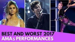 AMAs: Best and Worst Performances! (BTS, Selena Gomez, etc!) thumbnail