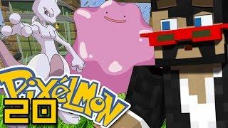 Minecraft: Pokemon Ep. 20 - MEWTWO OR DITTO?