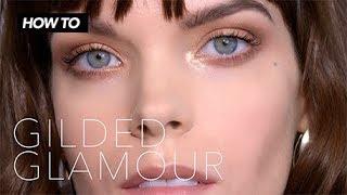 Easy Gilded Glamour Eye Tutorial by Bobbi Brown Cosmetics