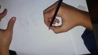 Como Desenhar o Mini Deadpool Passo a Passo