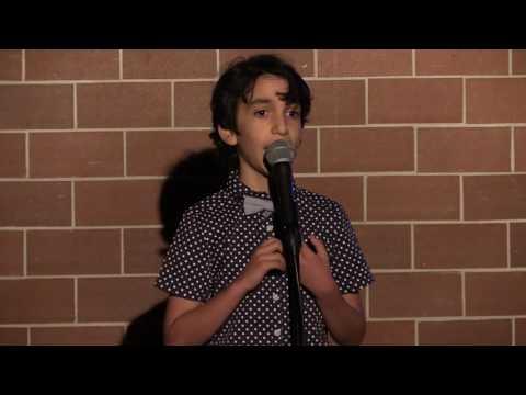 Me Doing Standup Age 10