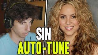 Shakira | su voz real sin autotune