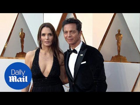 Benjamin Bratt hits the Oscars red carpet with wife Talisa Soto  Daily Mail