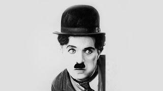 Drawing Charles Chaplin - Florensi Q.