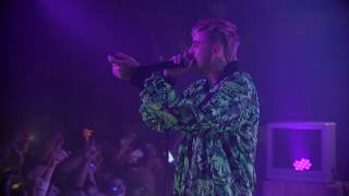 lil peep  'hellboy' + 'drive by' + 'benz truck' live in seattle (cowys tour)
