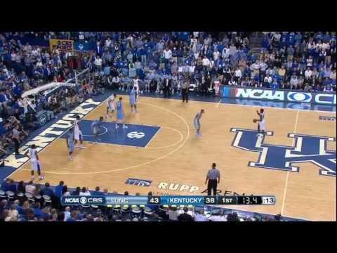 #5 North Carolina @ #1 Kentucky 12-3-11 (Full Game)