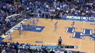 #5 North Carolina @ #1 Kentucky 12-3-11 (Full Game)