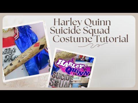 Suicide Squad Harley Quinn, Costume Tutorial ♡ Stephanie Wyatt