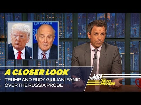 Trump and Rudy Giuliani Panic Over the Russia Probe: A Closer Look