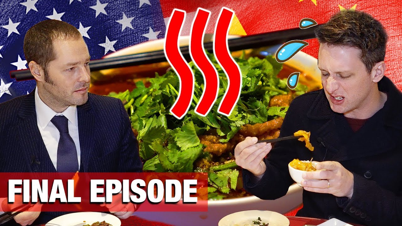 We Try China's SPICIEST Food