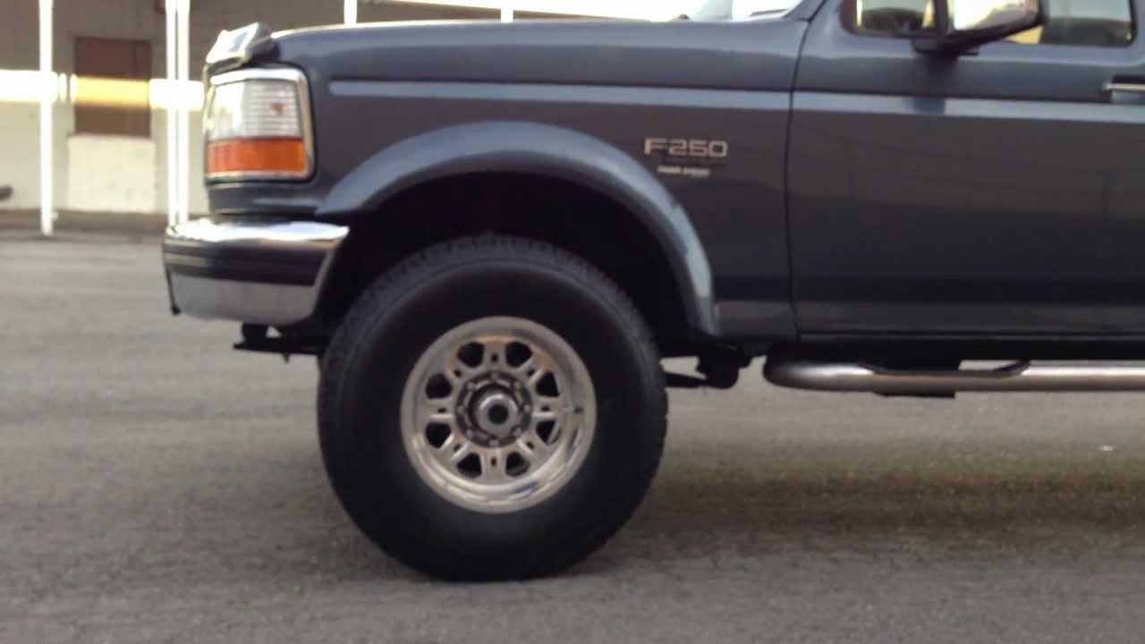 clean 1997 ford f250 crew cab xlt 4x4 7 3 powerstroke turbo diesel