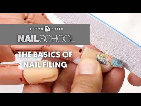YN NAIL SCHOOL - THE BASICS OF NAIL FILING