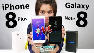 Galaxy Note 8 Vs iPhone 8 Plus !? Tonton dulu baru pilih [ Eng-Sub ]