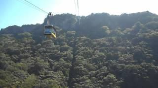 鋸山ロープウェイで山頂まで登ってみた♪