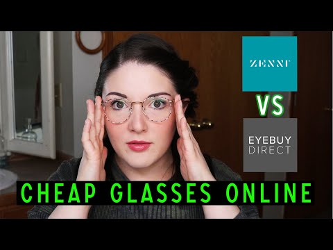 Zenni Optical vs. Eye Buy Direct | Cheap Glasses Online