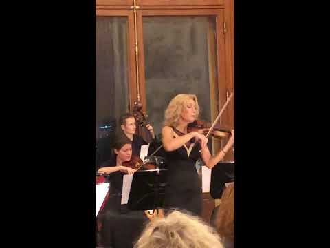 Tanja Seara Sallustio Concertmaster At The Belvedere Palace