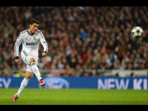 Cristiano Ronaldo Top 10 Free kicks In Real Madrid (HD)