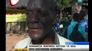Wakazi Wa Katavi Wafurahia Hotuba Ya Raisi Magufuli
