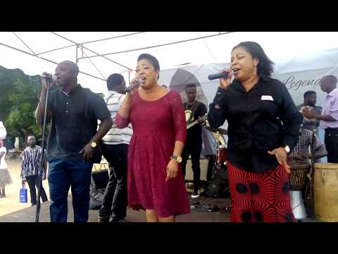 TAGOE SISTERS PERFORMS LIVE AT PAAPA YANKSON ONE WEEK CELEBRATION