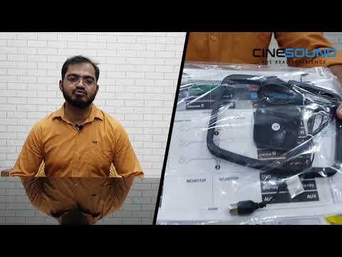 Denon AVR X1600H un-boxing review & initial speaker setup