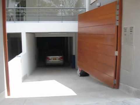 Puerta batiente con brazos nice youtube - Brazos puertas automaticas ...