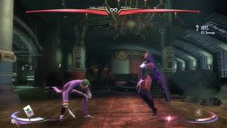 Injustice: Gods Among Us Ultimate Edition The Joker vs Raven