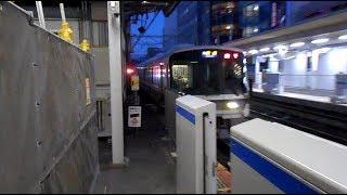 2019.02.16 JR西日本 221系B編成+C編成10両編成 快速網干行き到着 高槻市駅