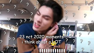 23 nct 2020 moments i think about a lot