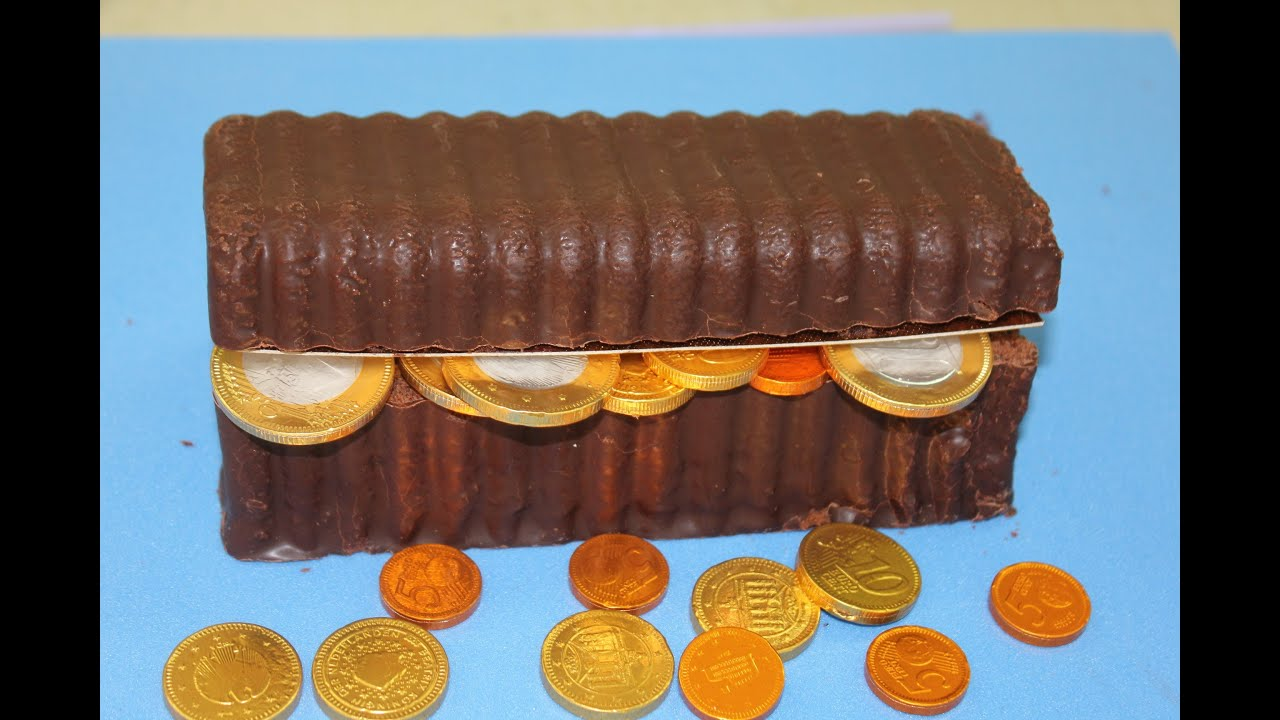 C mo hacer una tarta de cofre pirata muy f cil por 3 euros for Como decorar unas facil