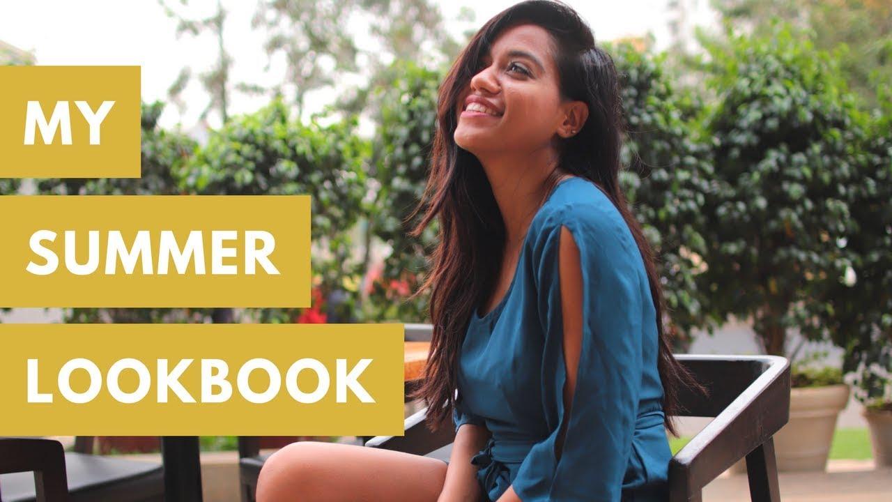 15f415ffc3f02 My Summer Dresses Lookbook | Debasree Banerjee - YouTube
