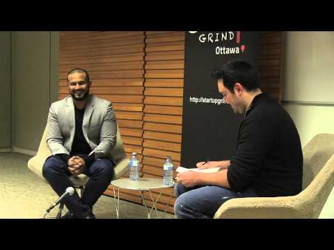 Dax Dasilva (CEO & Founder Lightspeed) at Startup Grind Ottawa