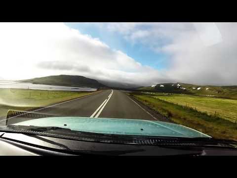 Iceland Drivelapse Djúpavík to Búðardalur