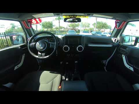 2016 Jeep Wrangler Unlimited Sport Interior
