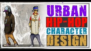 Character Design - Urban/Hip-Hop Swagger