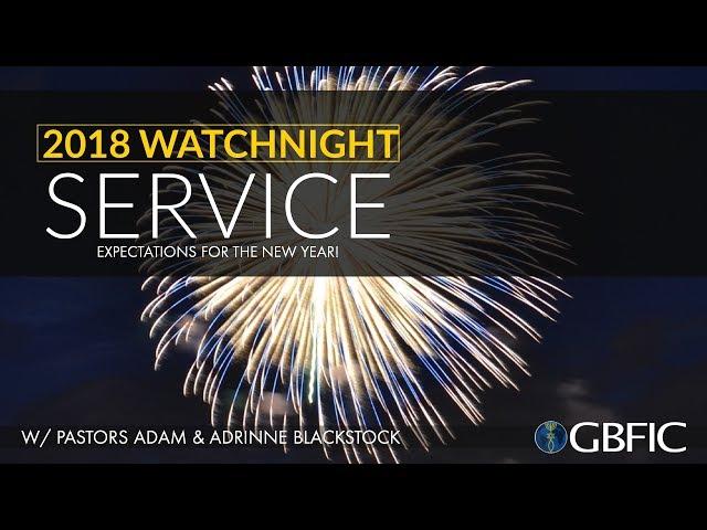 New Years 2018 - Pastors Adam & Adrinne Blackstock