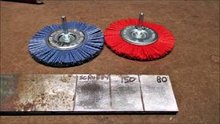 New Abrasive Wheels for the drill YouTube Videos