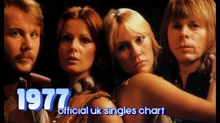 Top Songs of 1977 | #1s Official UK Singles Chart Video