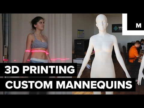 3D Printed Life-like Mannequins