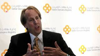 Rod Beckstrom, ICANN President & CEO - Qatar Domains REgistry Launch